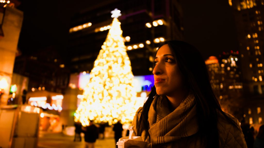 Christmas tree in Boston, MA - Dec 2018