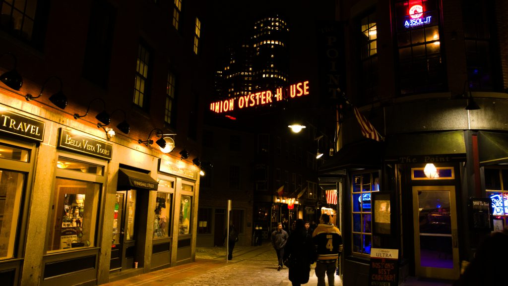 Union Oyster House in Boston, MA - Dec 2018