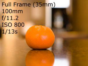 Full-Frame Equivalents